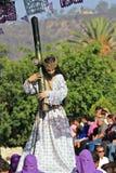 Goede Vrijdag in Oaxaca Stock Afbeeldingen
