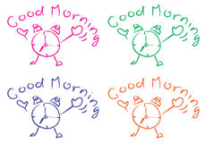 Goedemorgen Stock Foto
