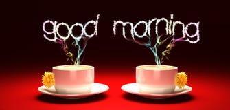 Goedemorgen Stock Fotografie