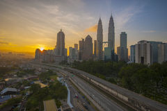Goedemorgen Kuala Lumpur Royalty-vrije Stock Foto's