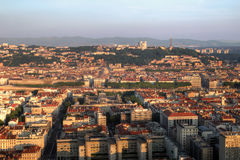 Goedemorgen Lyon! stock foto