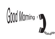 Goedemorgen - vector stock illustratie