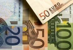Goedkoop-geld-euro-Europese munt Royalty-vrije Stock Afbeelding