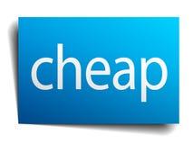 goedkoop teken vector illustratie