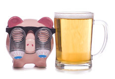 Goedkope alcohol Stock Foto