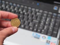 Goedkope computers Royalty-vrije Stock Afbeeldingen
