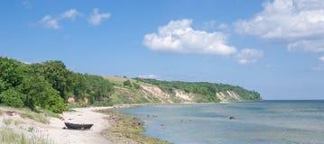 Goehren, isla de Ruegen, mar Báltico, Alemania fotos de archivo