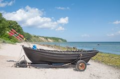 Goehren,Ruegen Island,baltic Sea,Germany Royalty Free Stock Image