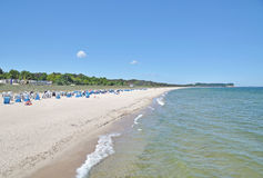 Goehren,Ruegen island,Baltic Sea,Germany Stock Photography