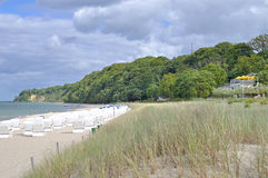 Goehren,Ruegen island,Baltic Sea,Germany Royalty Free Stock Photography