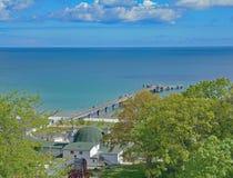 Goehren,Ruegen Island,baltic Sea,Germany Royalty Free Stock Photo