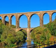 Goehren Viaduct Royalty Free Stock Image