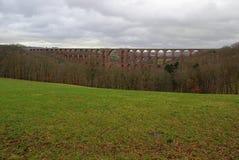 Goe�ltzsch valley bridge 25 Stock Image