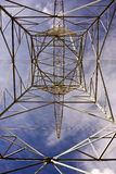 Goemetric Electrical Pylon Royalty Free Stock Photography