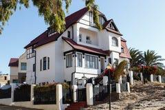 Goerke Haus - Luderitz,纳米比亚 免版税库存图片
