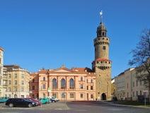 Goerlitz, o Reichenbachtower foto de stock royalty free