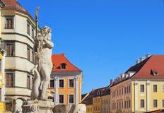 Goerlitz square Royalty Free Stock Image