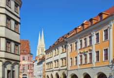 Goerlitz square Stock Image