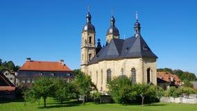 Goessweinstein church stock footage
