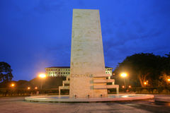 Goethals Memorial in Panama. Royalty Free Stock Images