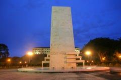 Goethals Memorial in Panama. Royalty Free Stock Images