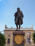 Goethe Denkmal Leipzig Stock Photo