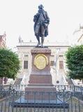Goethe Denkmal Leipzig Royalty Free Stock Image