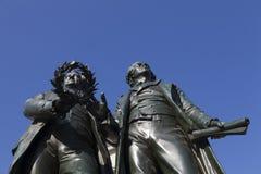 Goethe Denkmal Weimar Stockfotografie