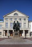 Goethe Denkmal Weimar Lizenzfreie Stockbilder