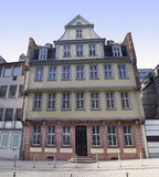 Goethe house in Frankfurt Stock Photos