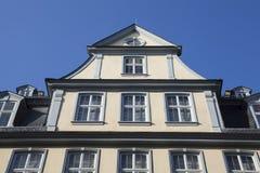 Goethe hus i Frankfurt Arkivbilder