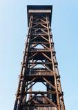 Goethe Kontrollturm, Frankfurt Deutschland Stockfotografie