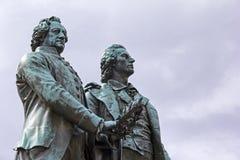 Goethe & memorial de Schiller em Weimar imagem de stock royalty free