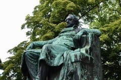 Goethe Memorial Vienna Royalty Free Stock Image