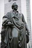 Goethe Monument Royalty Free Stock Images