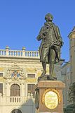 Goethe monument in Leipzig, Germany Royalty Free Stock Image
