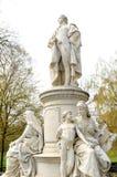 Goethe monument Royalty Free Stock Image