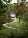 Goethe's garden house on the Ilm. Weimar, Germany, 2014 In the garden house on the Ilm Royalty Free Stock Photos