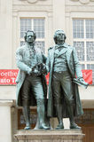 Goethe-Schiller-Monument Royalty Free Stock Photography