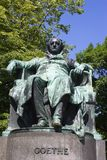 Goethe statue from vienna Royalty Free Stock Photo