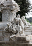 Goethe statue at Villa Borghese in Rome Stock Images