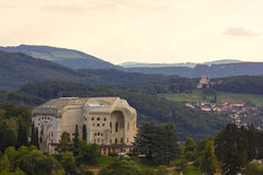 The Goetheanum, located in Dornach (near Basel), Switzerland Royalty Free Stock Photo