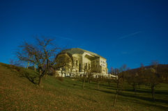 The Goetheanum, located in Dornach (near Basel), Switzerland Stock Image