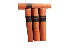 Goethes Bücher Stockfotos