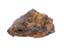 Goethite. Mineral Goethite isolated on a white background Stock Photography