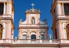 Goettweig abbotskloster Lägre Österrike Arkivfoto