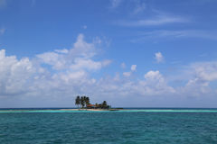 Goff s Caye in Belize Royalty Free Stock Images