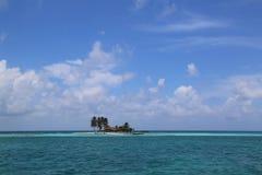 Goff s Caye w Belize Obrazy Royalty Free