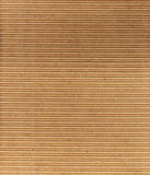 Goffered paper. Grunge brown background Stock Photography