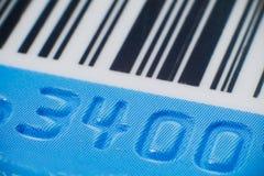 Goffratura della carta di credito Fotografia Stock